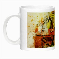 Car Old Car Fart Abstract Night Luminous Mugs by Celenk
