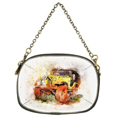 Car Old Car Fart Abstract Chain Purses (one Side)  by Celenk