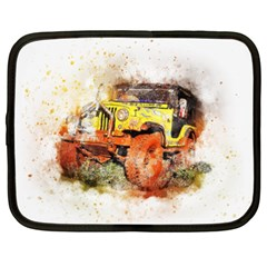 Car Old Car Fart Abstract Netbook Case (xxl)  by Celenk