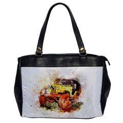 Car Old Car Fart Abstract Office Handbags by Celenk