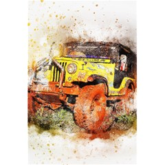 Car Old Car Fart Abstract 5 5  X 8 5  Notebooks by Celenk
