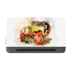 Car Old Car Fart Abstract Memory Card Reader With Cf by Celenk