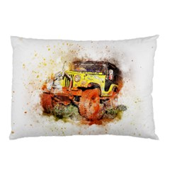Car Old Car Fart Abstract Pillow Case (two Sides)