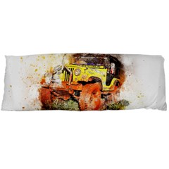 Car Old Car Fart Abstract Body Pillow Case (dakimakura) by Celenk