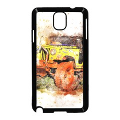 Car Old Car Fart Abstract Samsung Galaxy Note 3 Neo Hardshell Case (black) by Celenk
