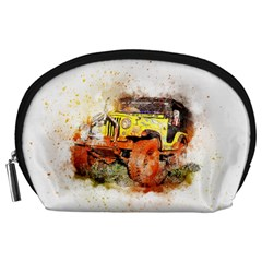 Car Old Car Fart Abstract Accessory Pouches (large)  by Celenk