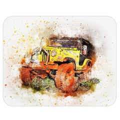 Car Old Car Fart Abstract Double Sided Flano Blanket (medium)  by Celenk
