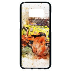 Car Old Car Fart Abstract Samsung Galaxy S8 Black Seamless Case by Celenk