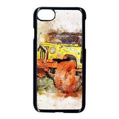 Car Old Car Fart Abstract Apple Iphone 8 Seamless Case (black) by Celenk