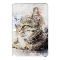 Cat Animal Art Abstract Watercolor Samsung Galaxy Tab Pro 12 2 Hardshell Case