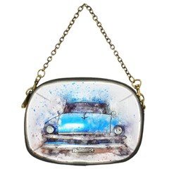 Car Old Car Art Abstract Chain Purses (one Side)
