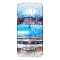 Car Old Car Art Abstract Samsung Galaxy S8 Plus Hardshell Case  by Celenk