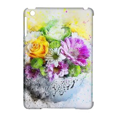 Flowers Vase Art Abstract Nature Apple Ipad Mini Hardshell Case (compatible With Smart Cover) by Celenk