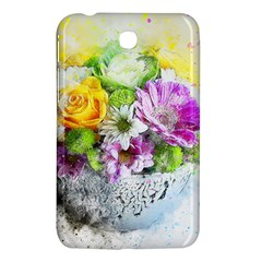 Flowers Vase Art Abstract Nature Samsung Galaxy Tab 3 (7 ) P3200 Hardshell Case