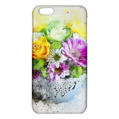 Flowers Vase Art Abstract Nature Iphone 6 Plus/6s Plus Tpu Case by Celenk