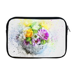 Flowers Vase Art Abstract Nature Apple Macbook Pro 17  Zipper Case by Celenk