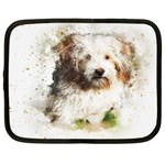 Dog Animal Pet Art Abstract Netbook Case (XXL)  Front