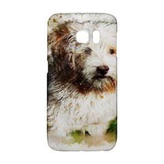 Dog Animal Pet Art Abstract Galaxy S6 Edge by Celenk