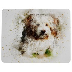 Dog Animal Pet Art Abstract Jigsaw Puzzle Photo Stand (rectangular)