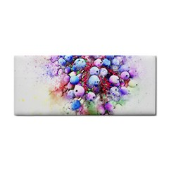 Berries Pink Blue Art Abstract Cosmetic Storage Cases by Celenk