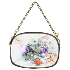 Flowers Bouquet Art Abstract Chain Purses (one Side)