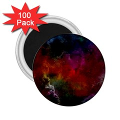 Abstract Picture Pattern Galaxy 2 25  Magnets (100 Pack)