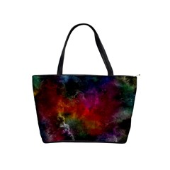 Abstract Picture Pattern Galaxy Shoulder Handbags by Celenk