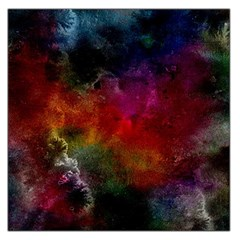 Abstract Picture Pattern Galaxy Large Satin Scarf (square) by Celenk