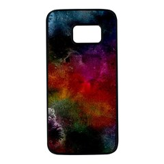 Abstract Picture Pattern Galaxy Samsung Galaxy S7 Black Seamless Case