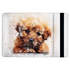 Dog Puppy Animal Art Abstract Ipad Air Flip