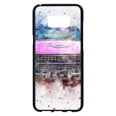 Pink Car Old Art Abstract Samsung Galaxy S8 Plus Black Seamless Case by Celenk