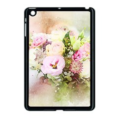 Flowers Bouquet Art Abstract Apple Ipad Mini Case (black)