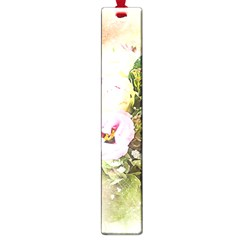 Flowers Bouquet Art Abstract Large Book Marks by Celenk