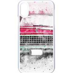 Car Old Car Art Abstract Apple Iphone X Seamless Case (white) by Celenk