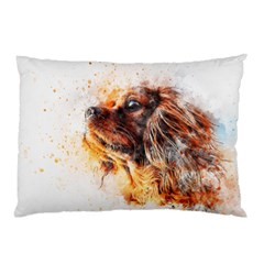 Dog Animal Pet Art Abstract Pillow Case (two Sides)