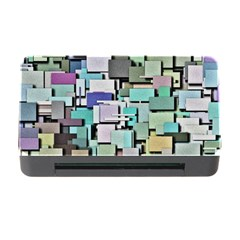Background Painted Squares Art Memory Card Reader With Cf