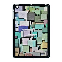 Background Painted Squares Art Apple Ipad Mini Case (black)