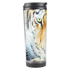 Tiger Animal Art Abstract Travel Tumbler by Celenk