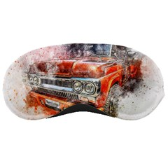 Car Old Car Art Abstract Sleeping Masks by Celenk