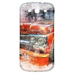 Car Old Car Art Abstract Samsung Galaxy S3 S Iii Classic Hardshell Back Case by Celenk