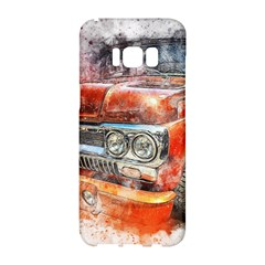 Car Old Car Art Abstract Samsung Galaxy S8 Hardshell Case  by Celenk