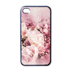 Flowers Bouquet Art Abstract Apple Iphone 4 Case (black)