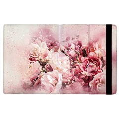 Flowers Bouquet Art Abstract Apple Ipad 2 Flip Case by Celenk