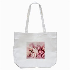 Flowers Bouquet Art Abstract Tote Bag (white) by Celenk