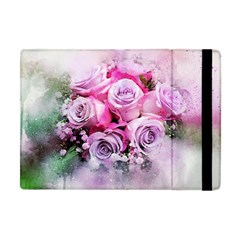Flowers Roses Bouquet Art Abstract Apple Ipad Mini Flip Case by Celenk