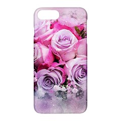Flowers Roses Bouquet Art Abstract Apple Iphone 7 Plus Hardshell Case
