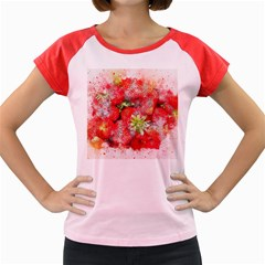 Strawberries Fruit Food Art Women s Cap Sleeve T Shirt