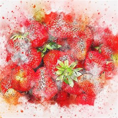 Strawberries Fruit Food Art Magic Photo Cubes by Celenk