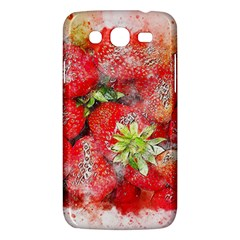 Strawberries Fruit Food Art Samsung Galaxy Mega 5 8 I9152 Hardshell Case  by Celenk