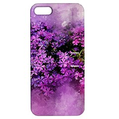 Flowers Spring Art Abstract Nature Apple Iphone 5 Hardshell Case With Stand by Celenk